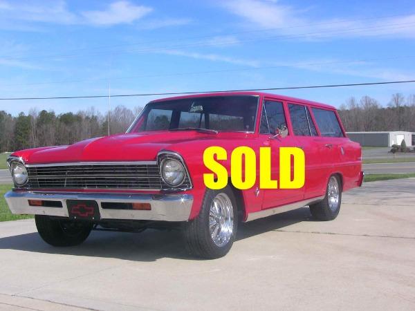 1967 Chevrolet Nova II Station Wagon For Sale $40000