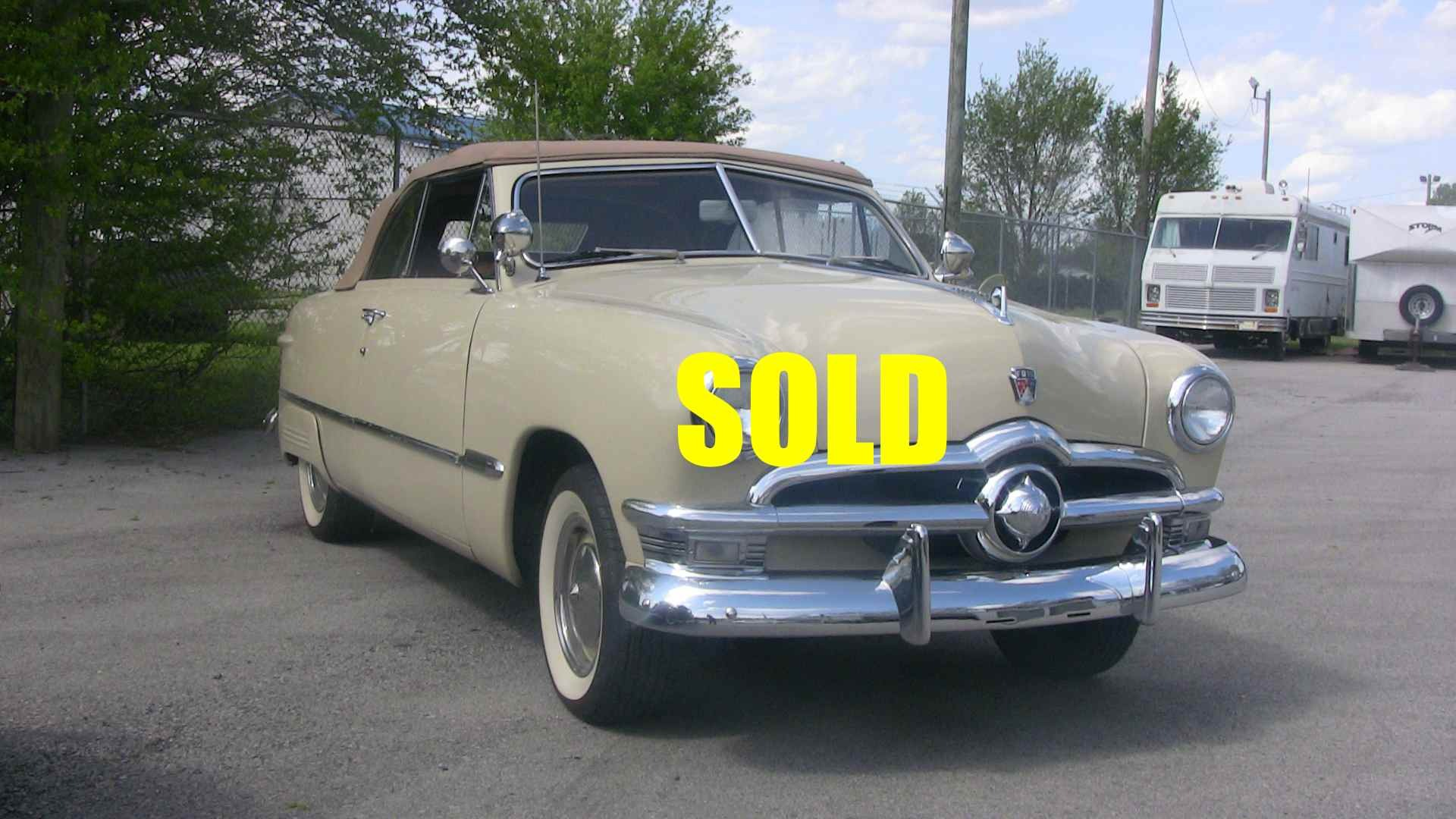 Used 1950 Ford Convertible , For Sale $49800, Call Us: (704) 996-3735