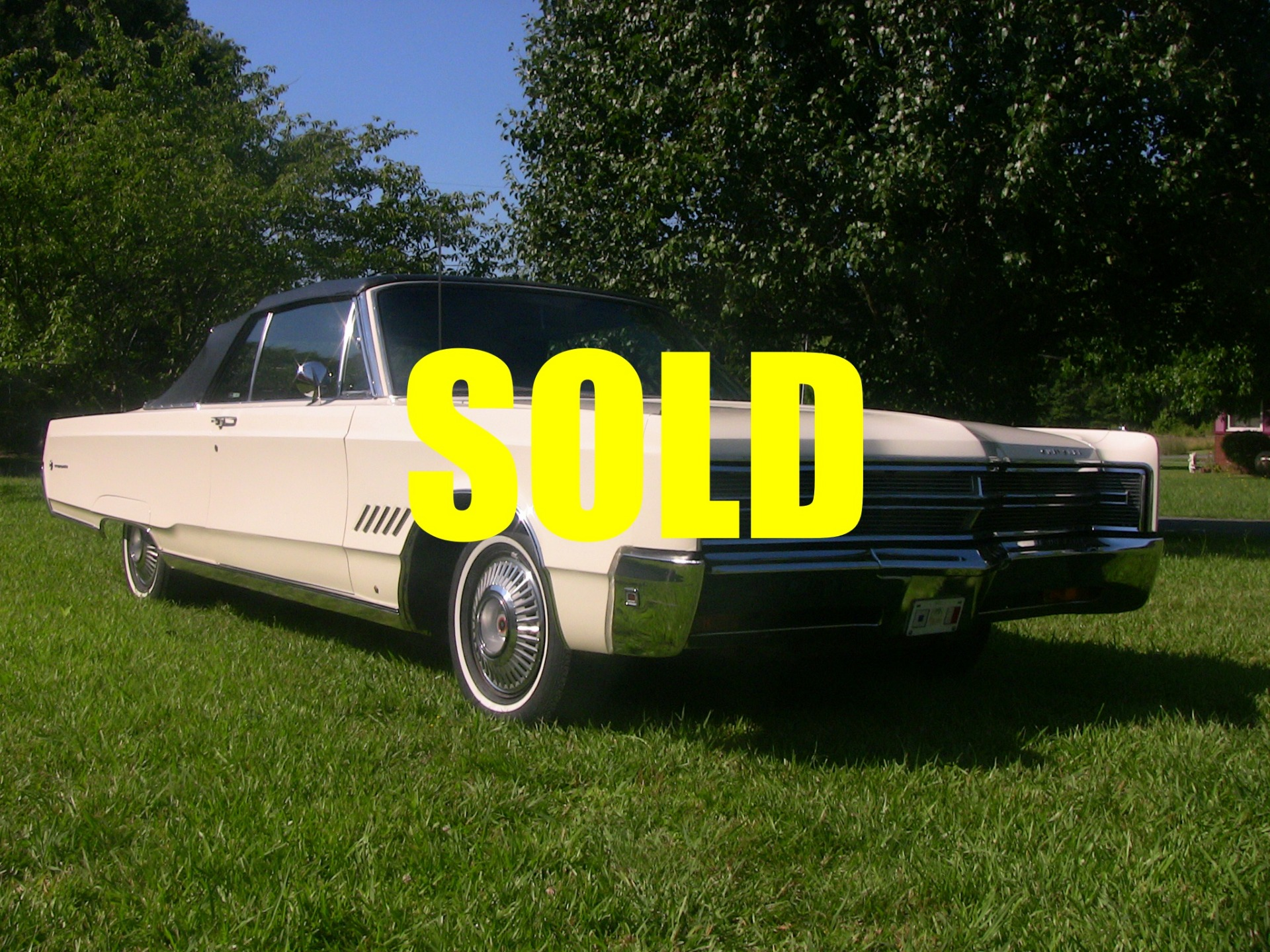 1968 Chrysler 300 Convertible Stock A101 For Sale Near