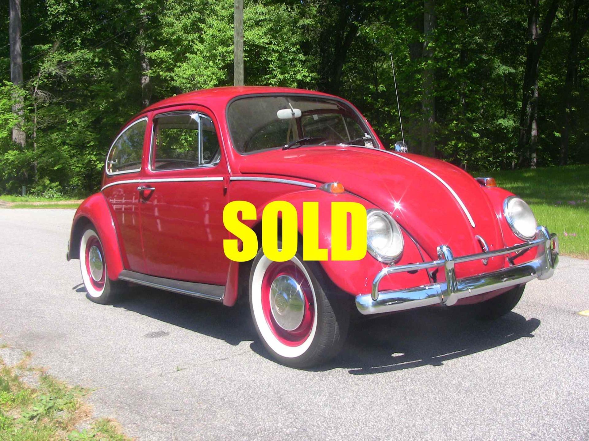 1966 Volkswagen Beetle Stock A128 For Sale Near Cornelius Nc Nc Volkswagen Dealer
