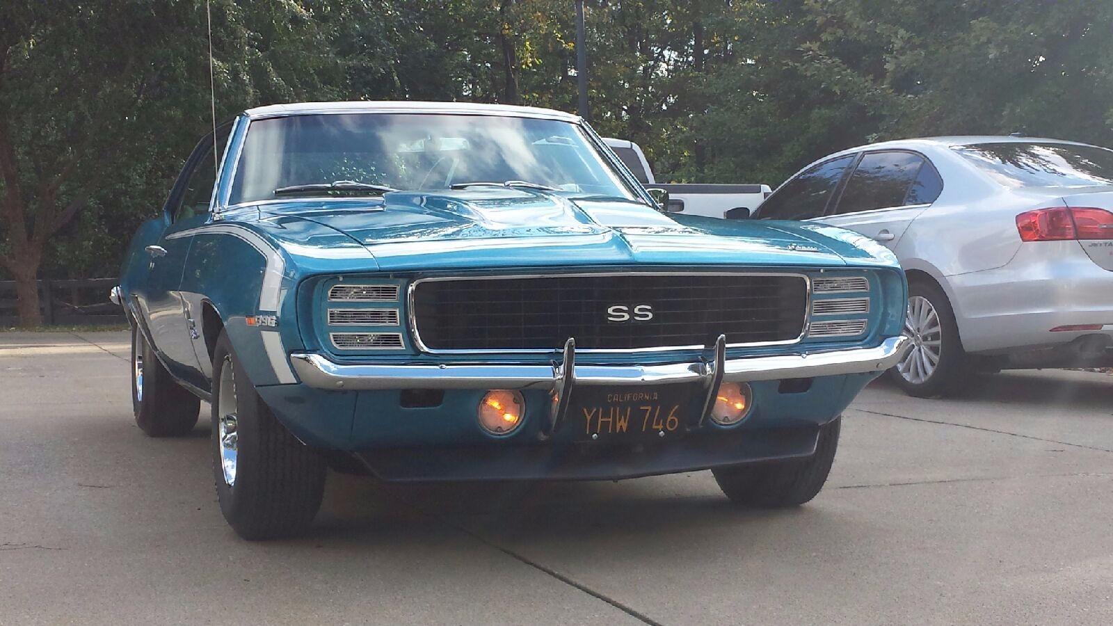 1969 Chevrolet Camaro SS Stock # A132 for sale near Cornelius, NC | NC Chevrolet Dealer