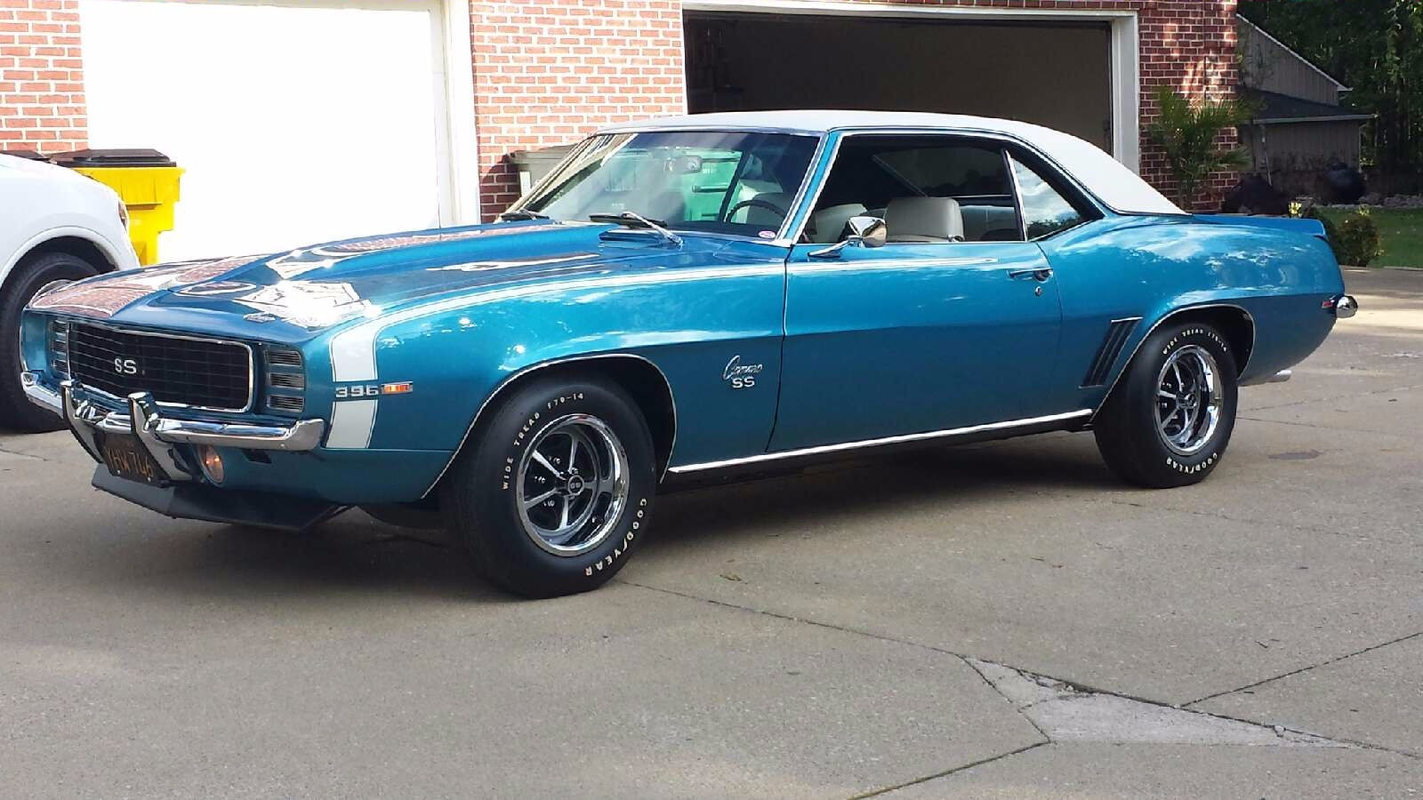 1969 Chevrolet Camaro Ss Stock A132 For Sale Near