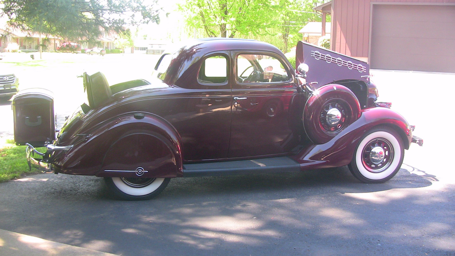 1935 plymouth pg deluxe stock   a164 for sale near