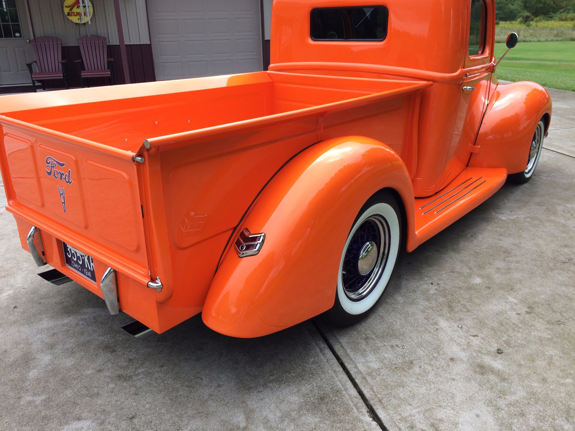 1941 Ford Half Ton Pickup Stock A190 For Sale Near Cornelius Nc Truck Front Fenders Used