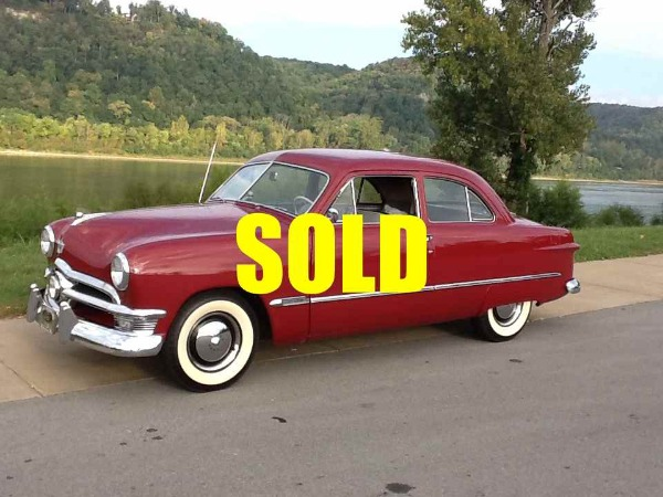 1950 Ford Custom Deluxe  For Sale $17500