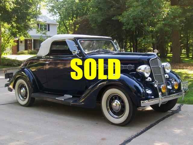 Used 1935 Plymouth Deluxe Convertible Coupe Convertible Coupe 103 , For Sale $32500, Call Us: (704) 996-3735