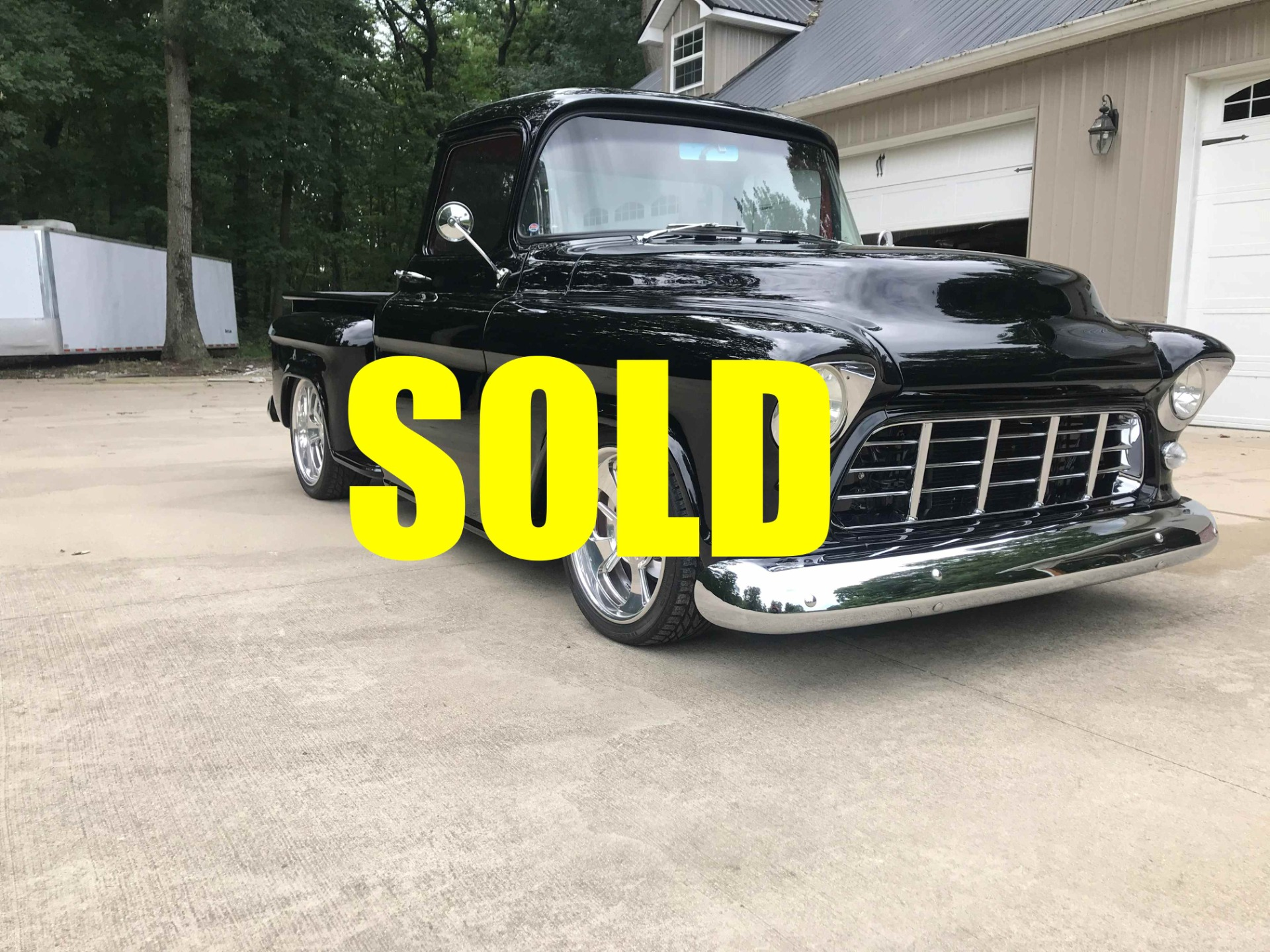 Used 1955 Chevrolet 3100 Big Window Half Ton 104 , For Sale $75000, Call Us: (704) 996-3735