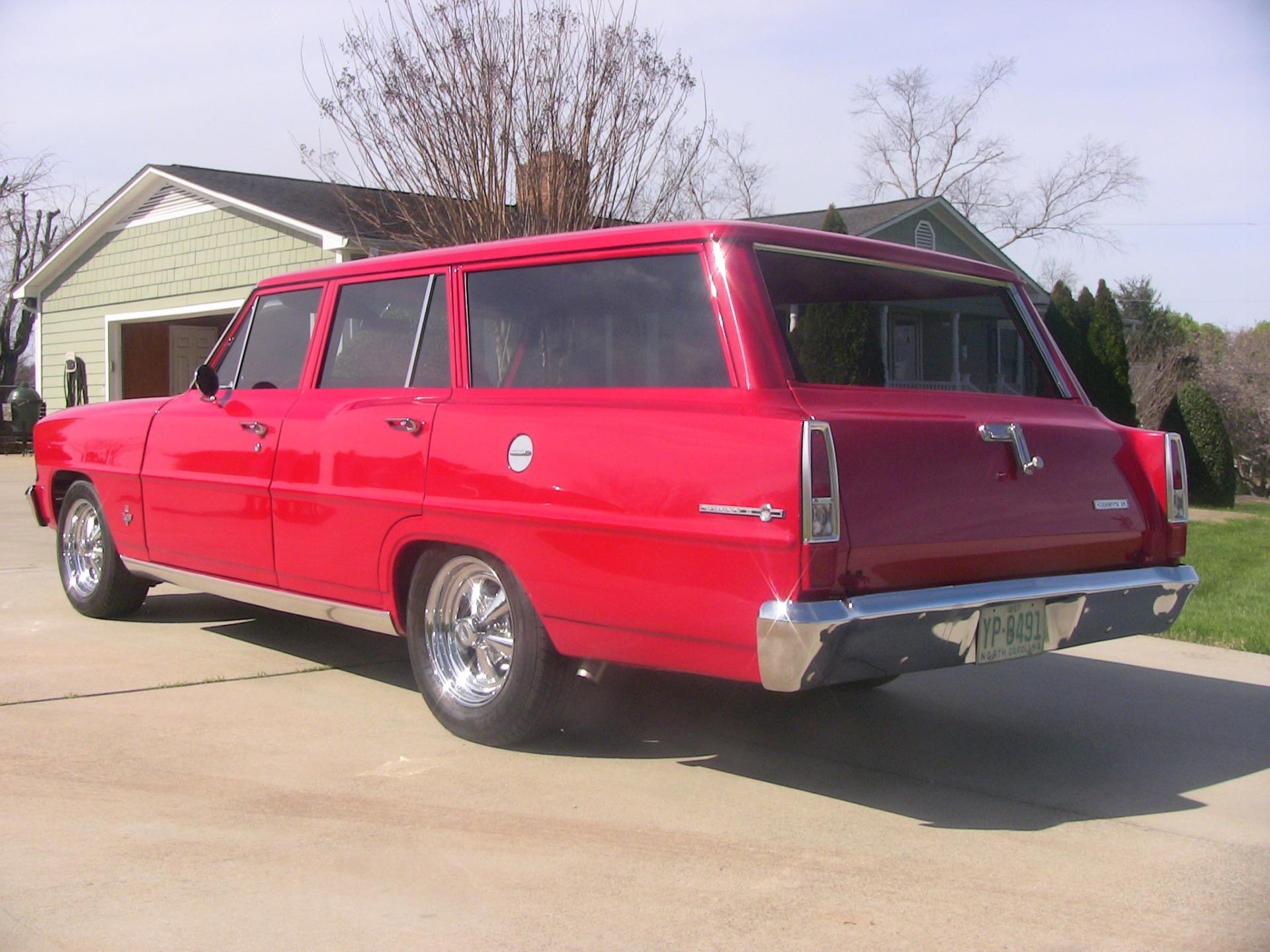 Used 1967 Chevrolet Chevy II Nova Station Wagon