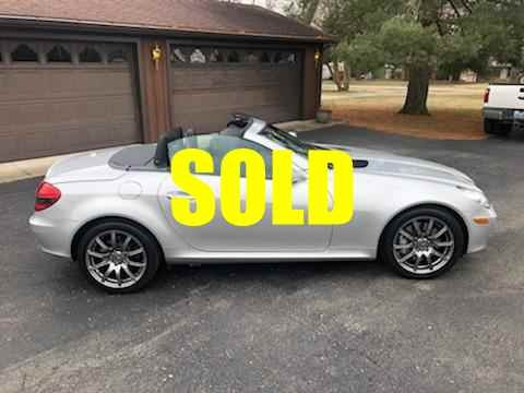 Used 2008 Mercedes Benz SLK 350 Convertible Hardtop Edition 10 112 , For Sale $18500, Call Us: (704) 996-3735