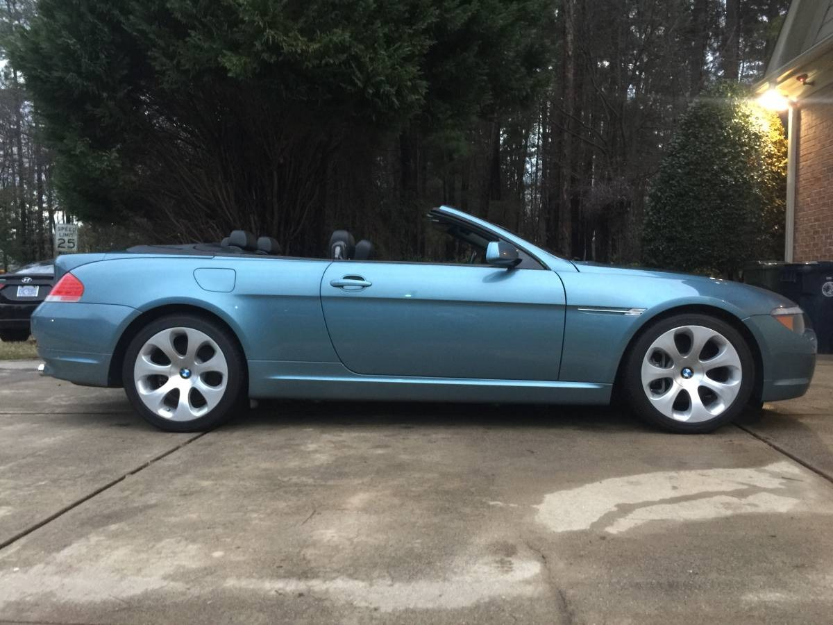Used 2005 BMW 645i Convertible Sport Package