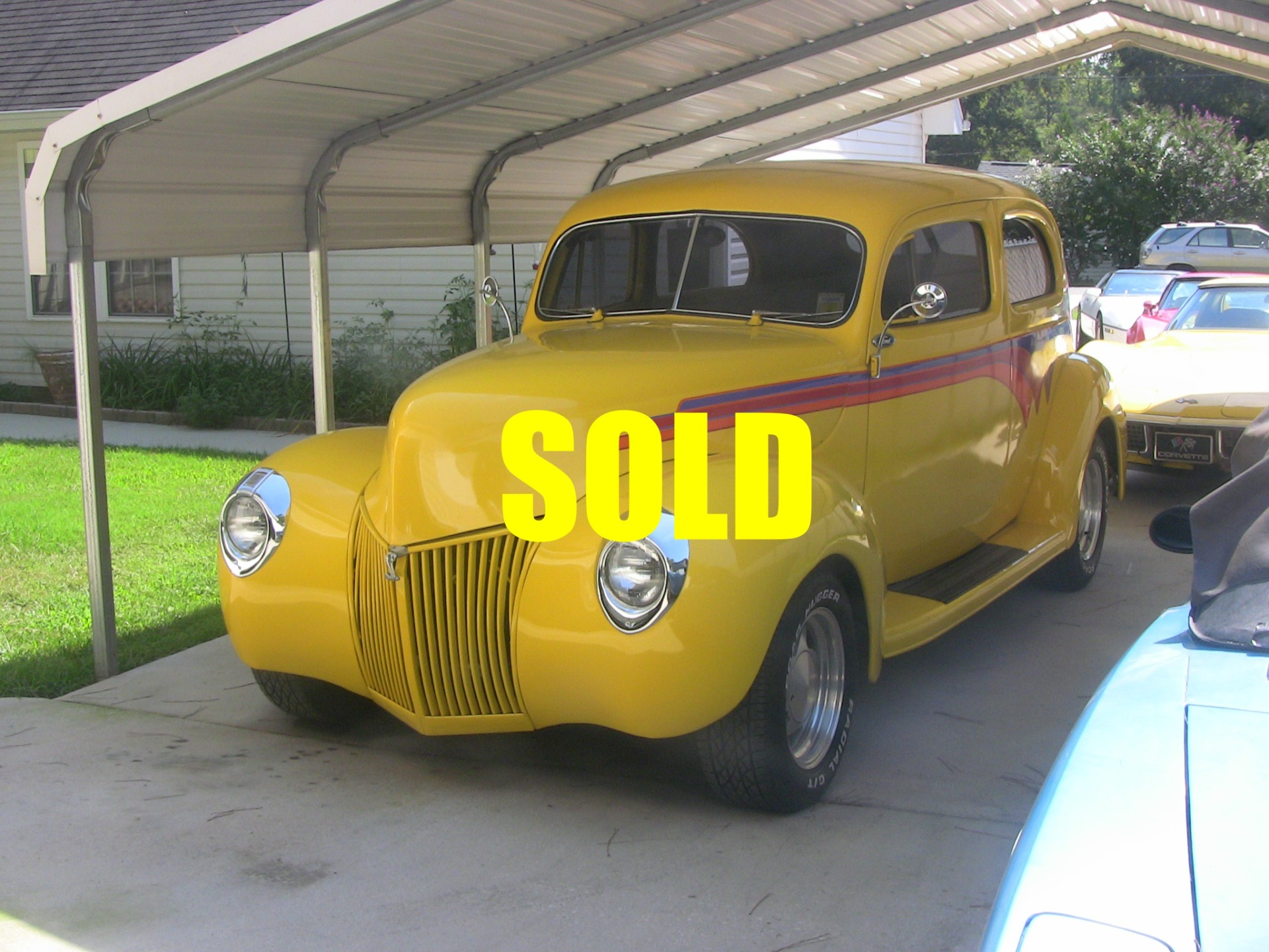 Used 1940 Ford Deluxe Custom 12 , For Sale $37500, Call Us: (704) 996-3735