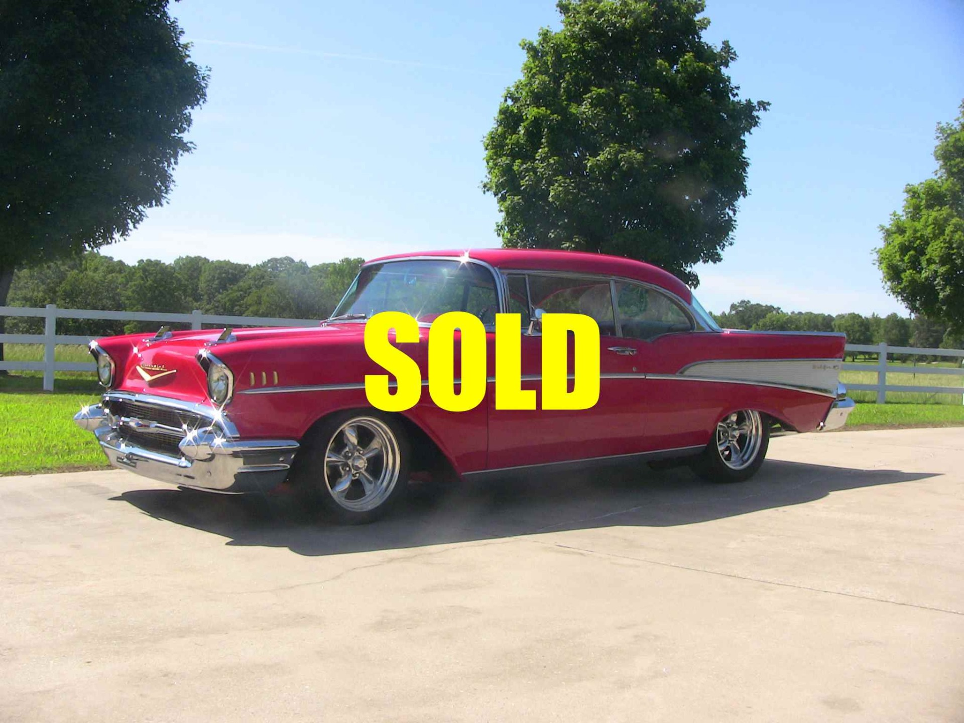 Used 1957 Chevrolet Bel Air  121 , For Sale $46500, Call Us: (704) 996-3735