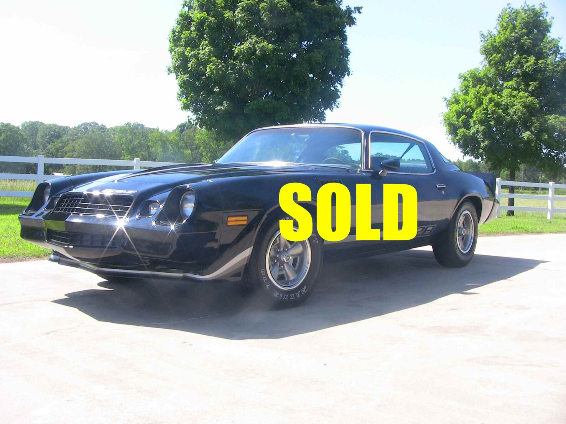 Used 1979 Chevrolet Camaro Z28  122 , For Sale $26500, Call Us: (704) 996-3735