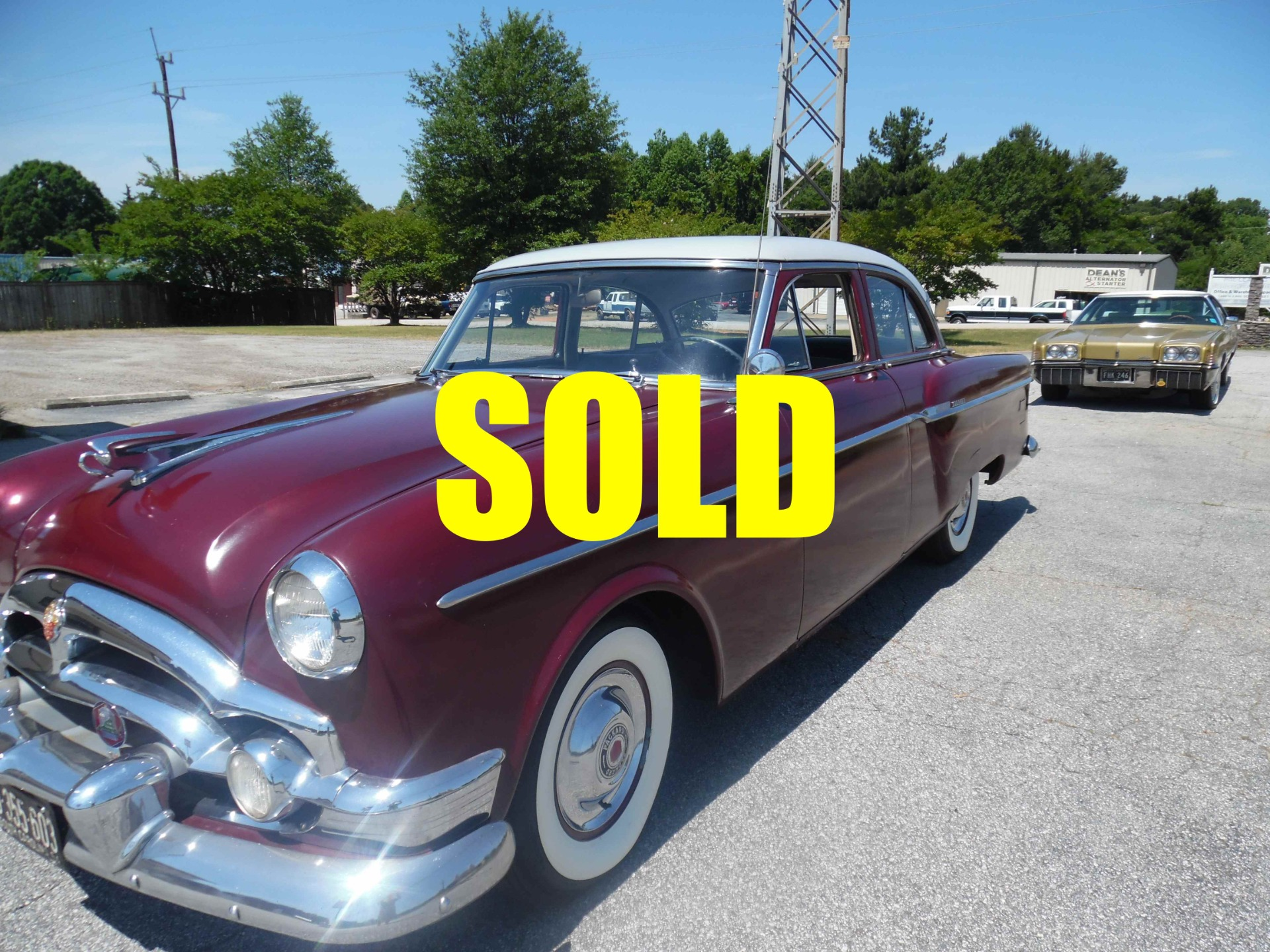 Used 1954 Packard Clipper Deluxe  129 , For Sale $12400, Call Us: (704) 996-3735