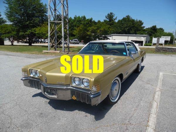 1972 Oldsmobile Toronado Brougham  For Sale $16000