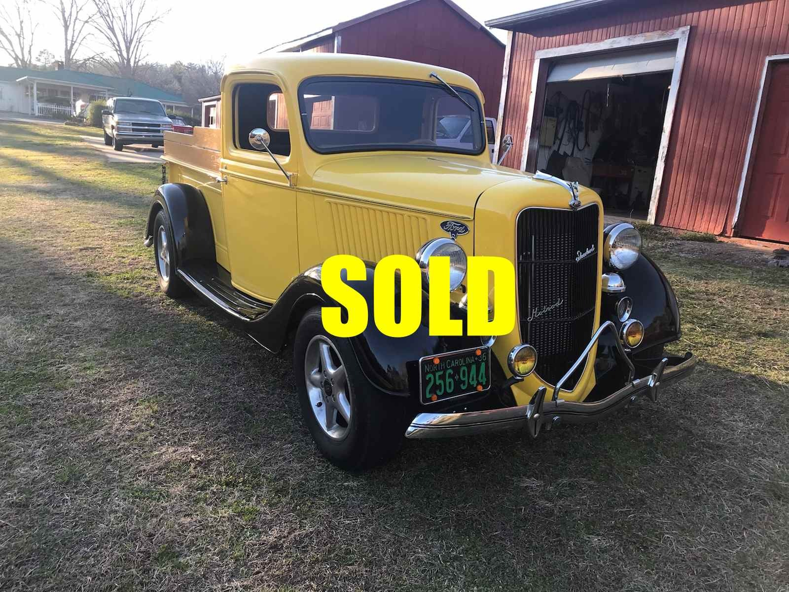 Used 1936 Ford Half Ton Pickup Truck  132 , For Sale $36000, Call Us: (704) 996-3735