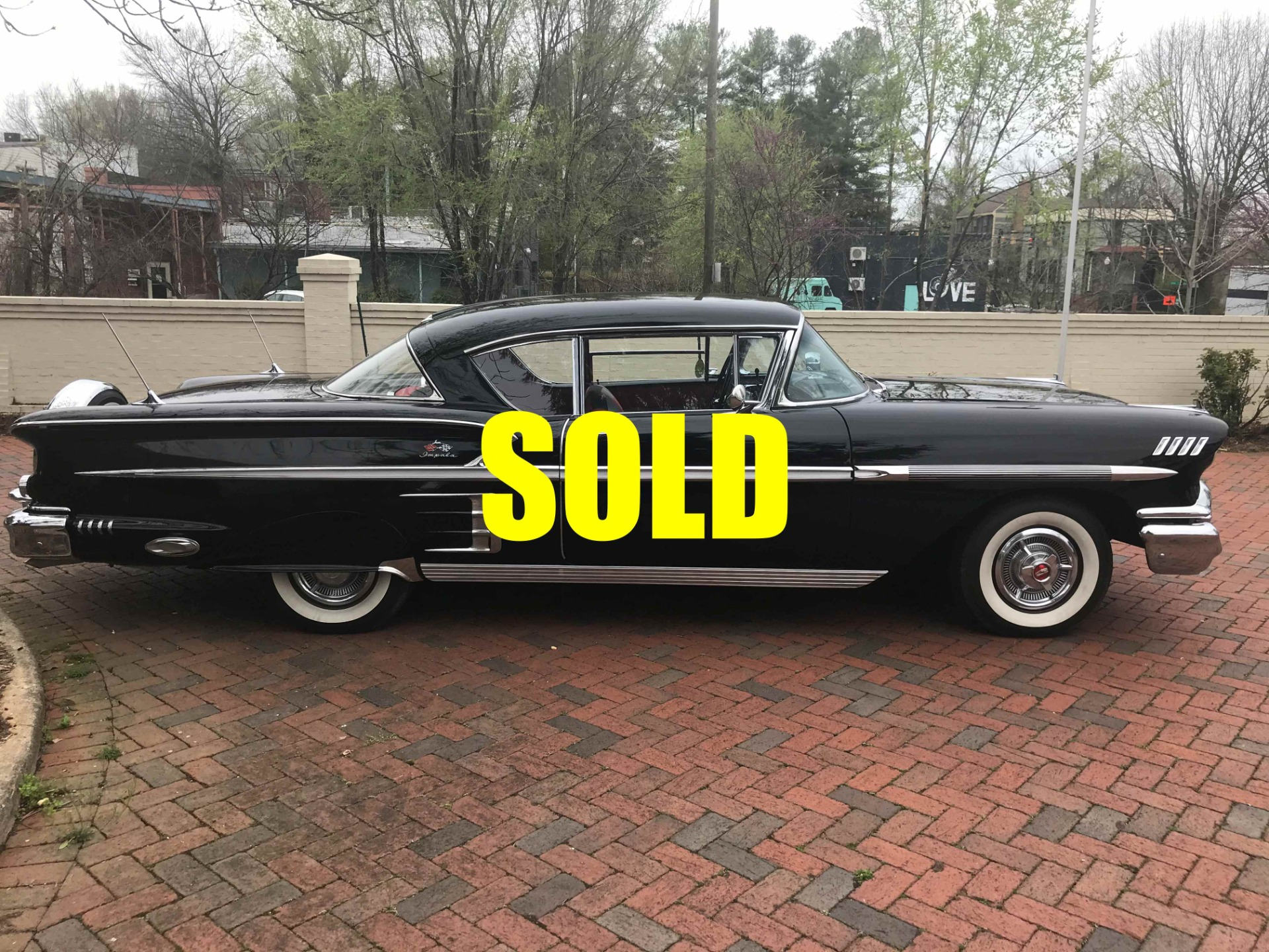 Used 1958 Chevrolet Impala Sport Coupe  134 , For Sale $58000, Call Us: (704) 996-3735
