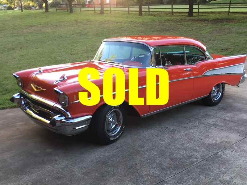 Used 1957 Chevrolet Bel Air  135 , For Sale $39000, Call Us: (704) 996-3735
