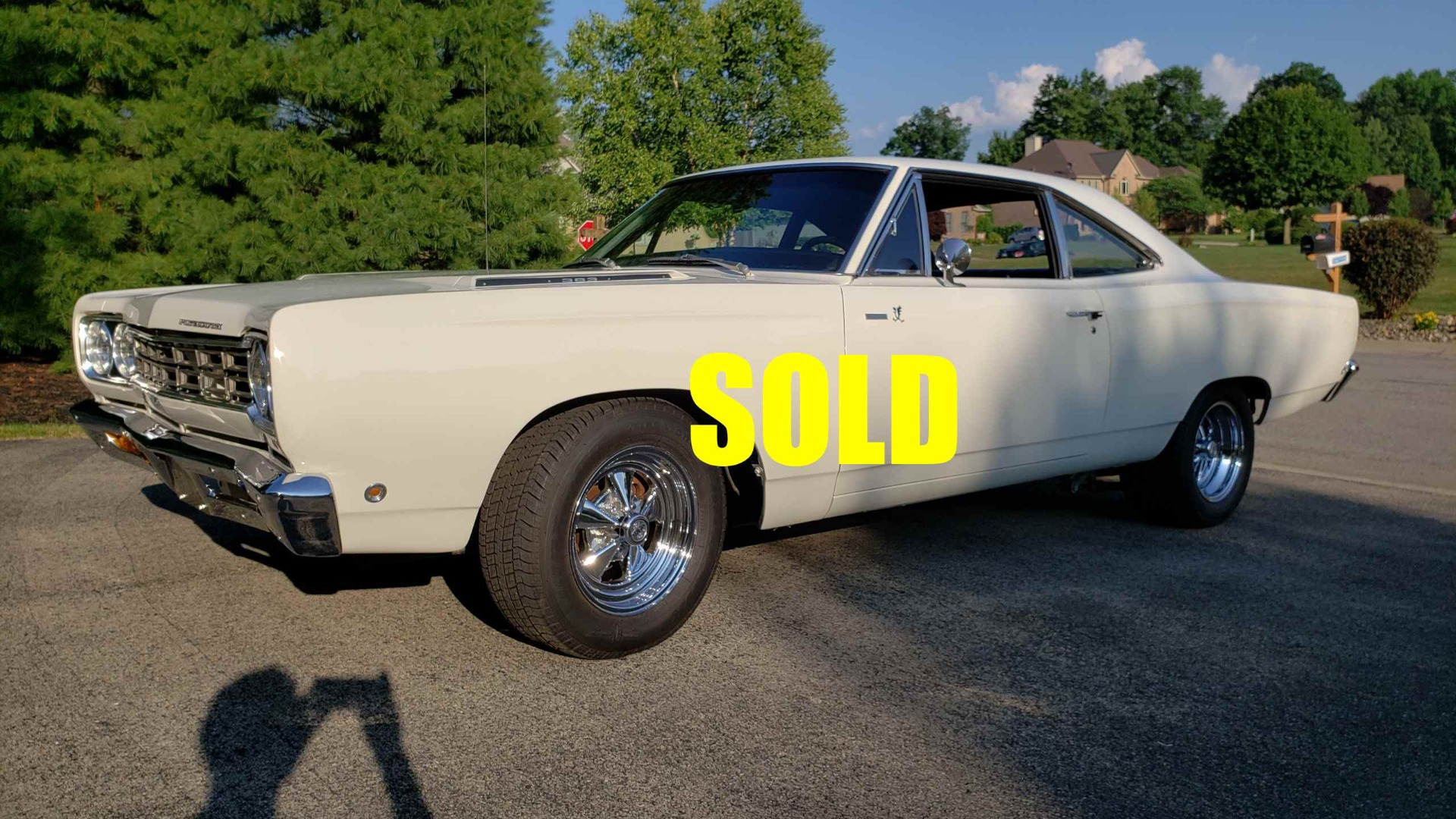 Used 1968 Plymouth Roadrunner  142 , For Sale $46000, Call Us: (704) 996-3735