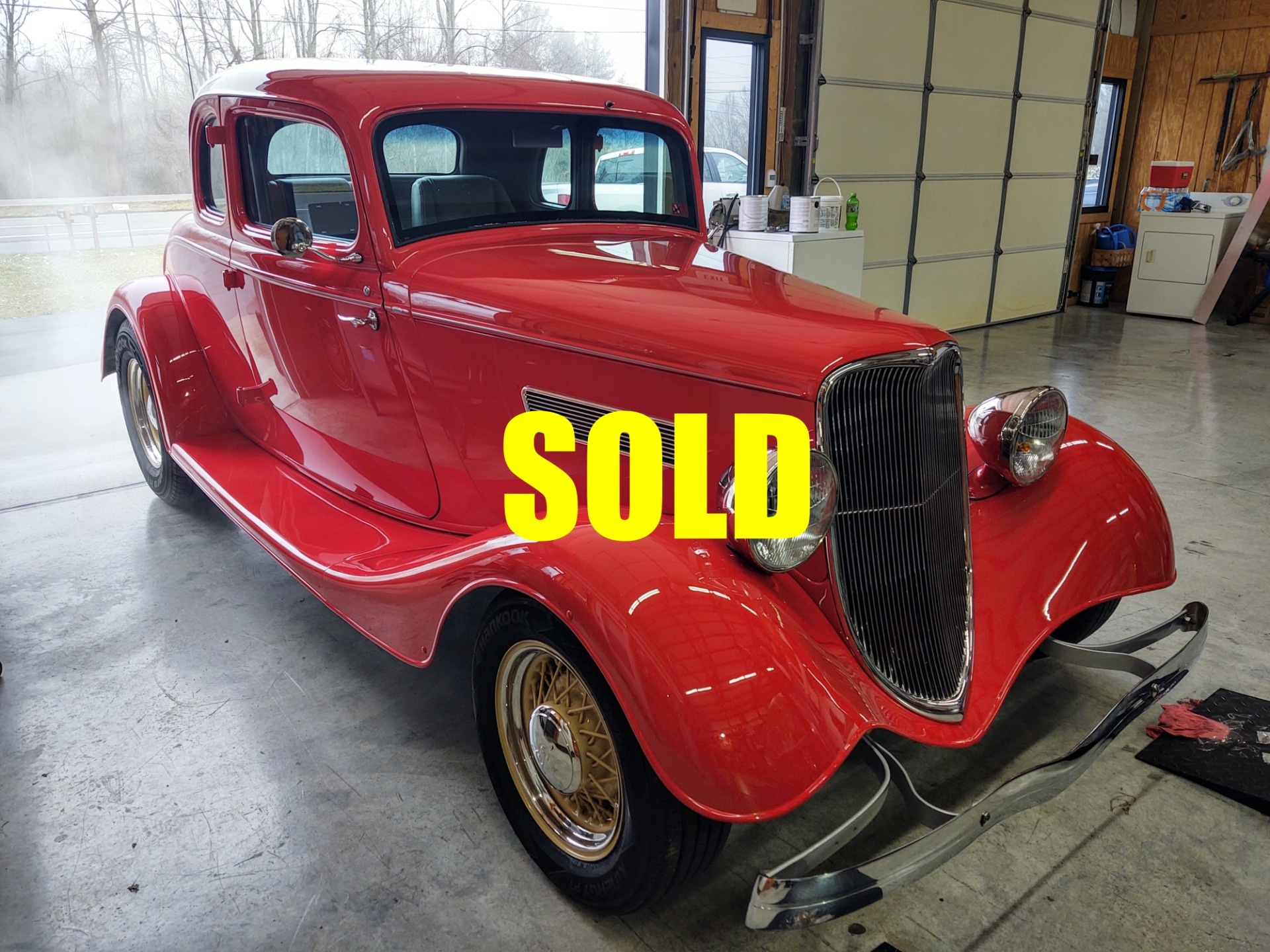 Used 1933 Ford Custom Coupe  146 , For Sale $59500, Call Us: (704) 996-3735