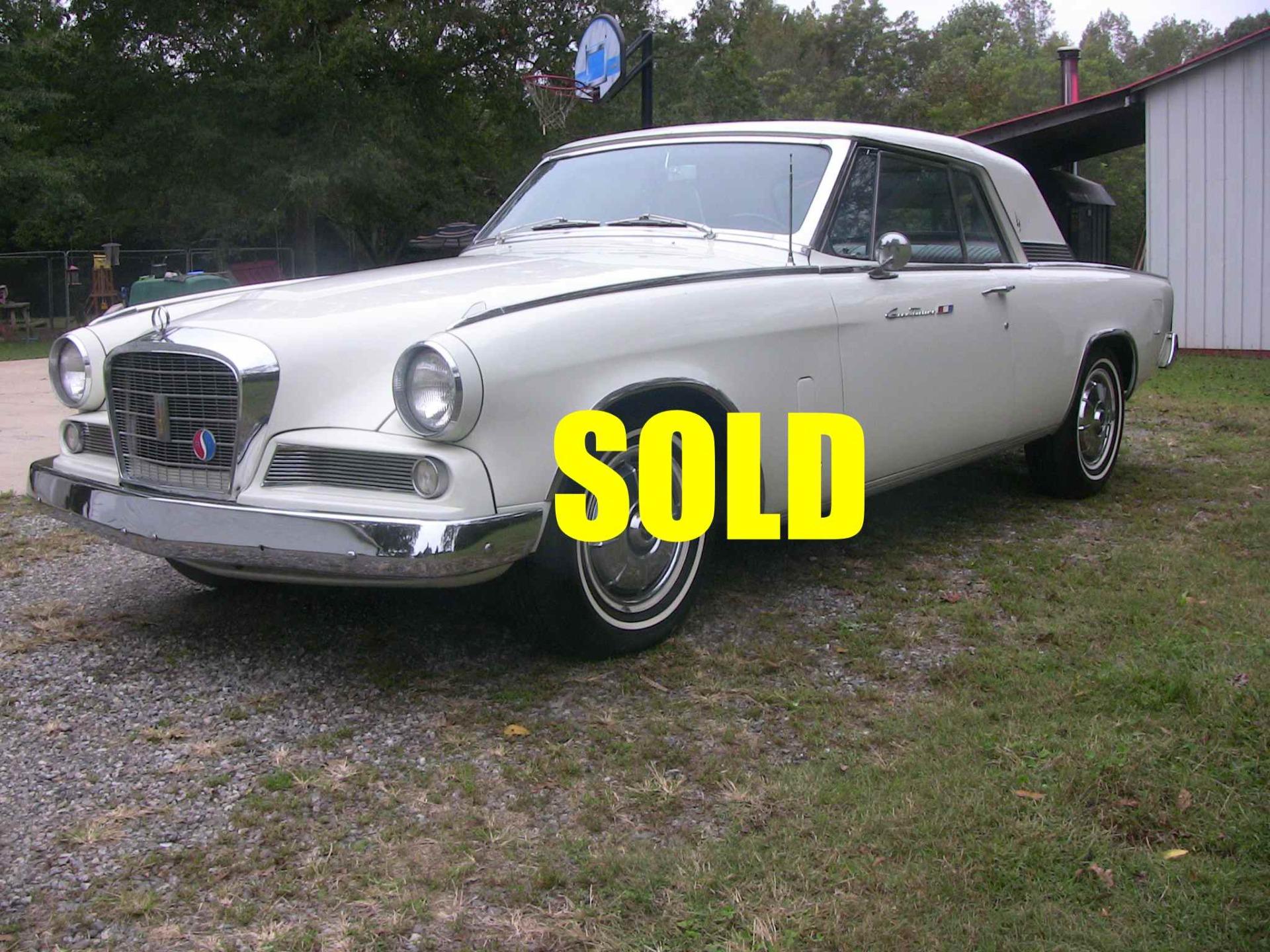 Used 1964 Studebaker Gran Turismo Hawk  149 , For Sale $39500, Call Us: (704) 996-3735