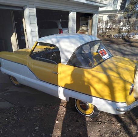 1958 Nash Metropolitan  For Sale $12500