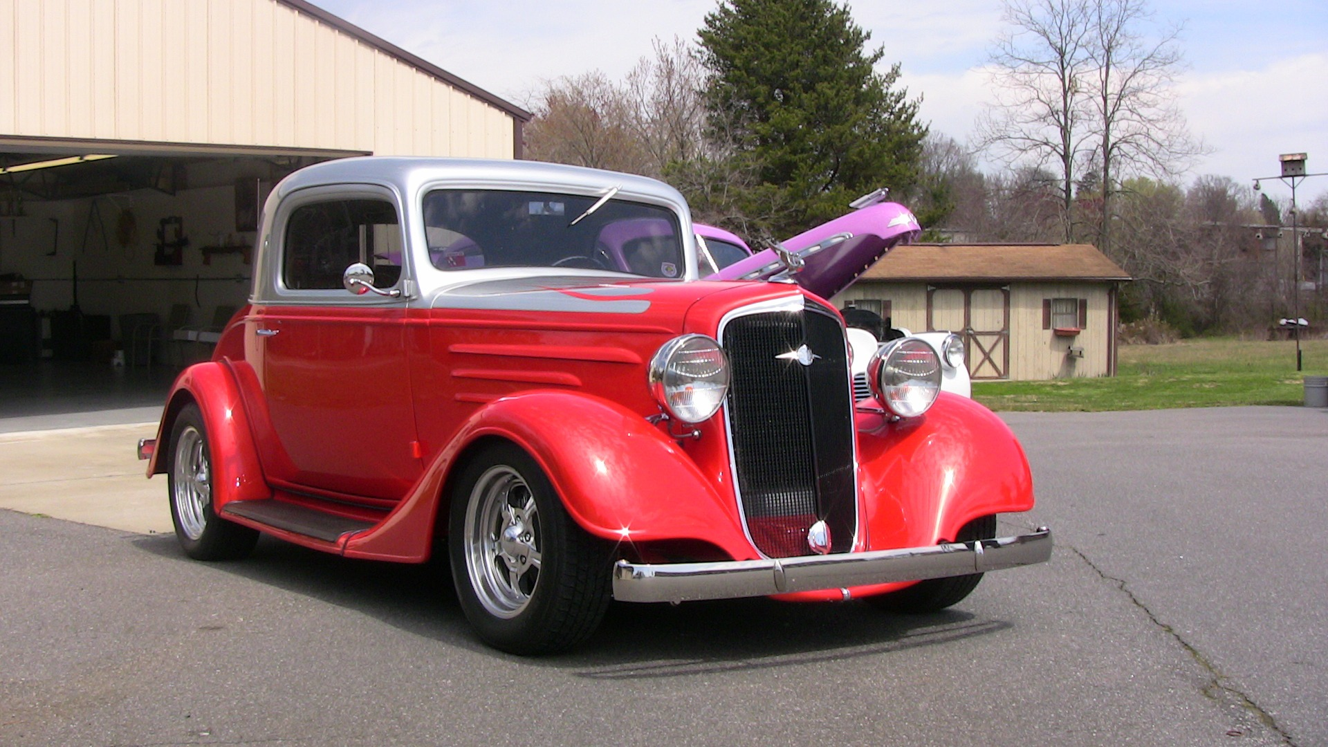 New 1935 Chevrolet 3 Window Coupe
