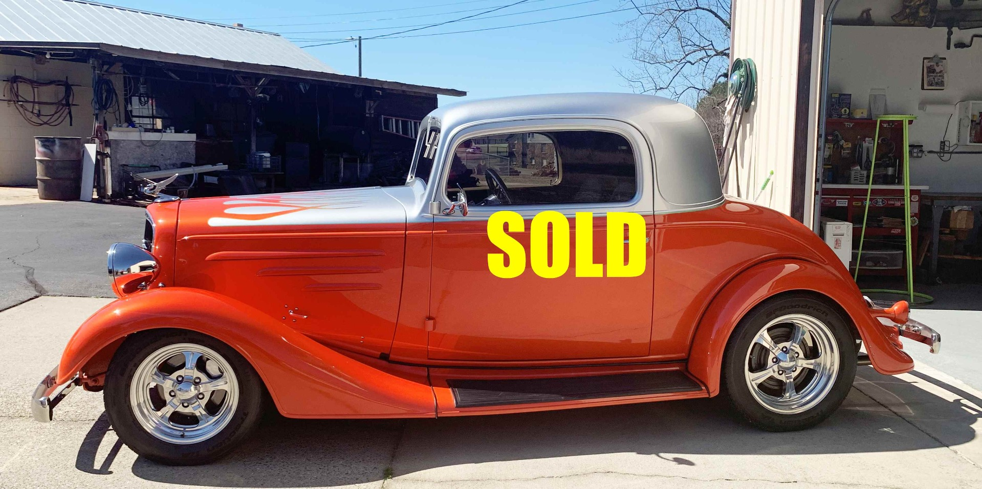 New 1935 Chevrolet 3 Window Coupe  160 , For Sale $62000, Call Us: (704) 996-3735
