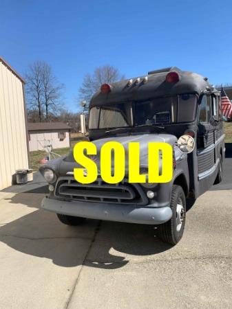 1957 Chevrolet Ambulance  For Sale $24000