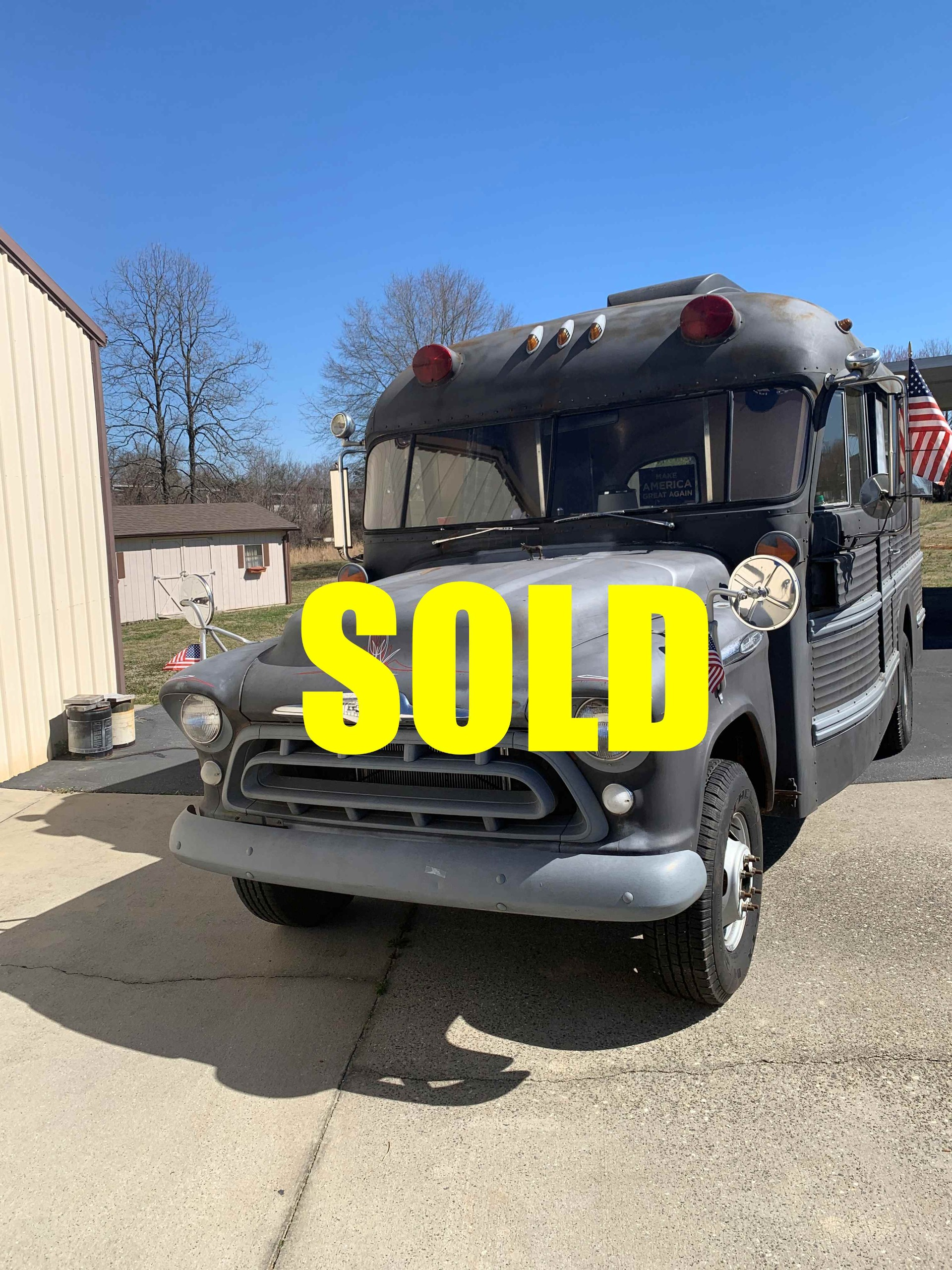 Used 1957 Chevrolet Ambulance  161 , For Sale $24000, Call Us: (704) 996-3735