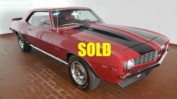 1969 Chevrolet Camaro Z28  For Sale $78000