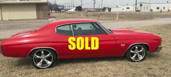1972 Chevrolet Malibu Chevelle SS For Sale $26000