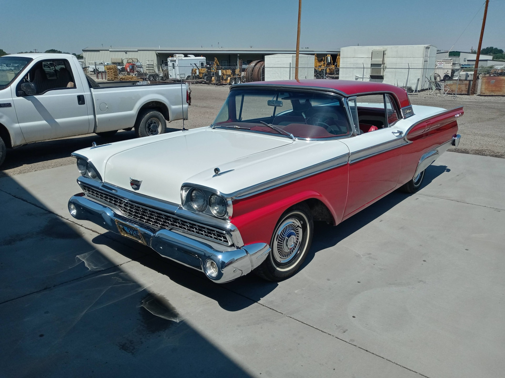 Used 1959 Ford Fairlane 500 Galaxie Skyliner Retractable Hardtop