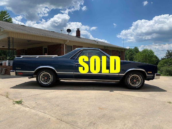 1985 GMC Caballero Coupe/Pickup Utility  For Sale $11500