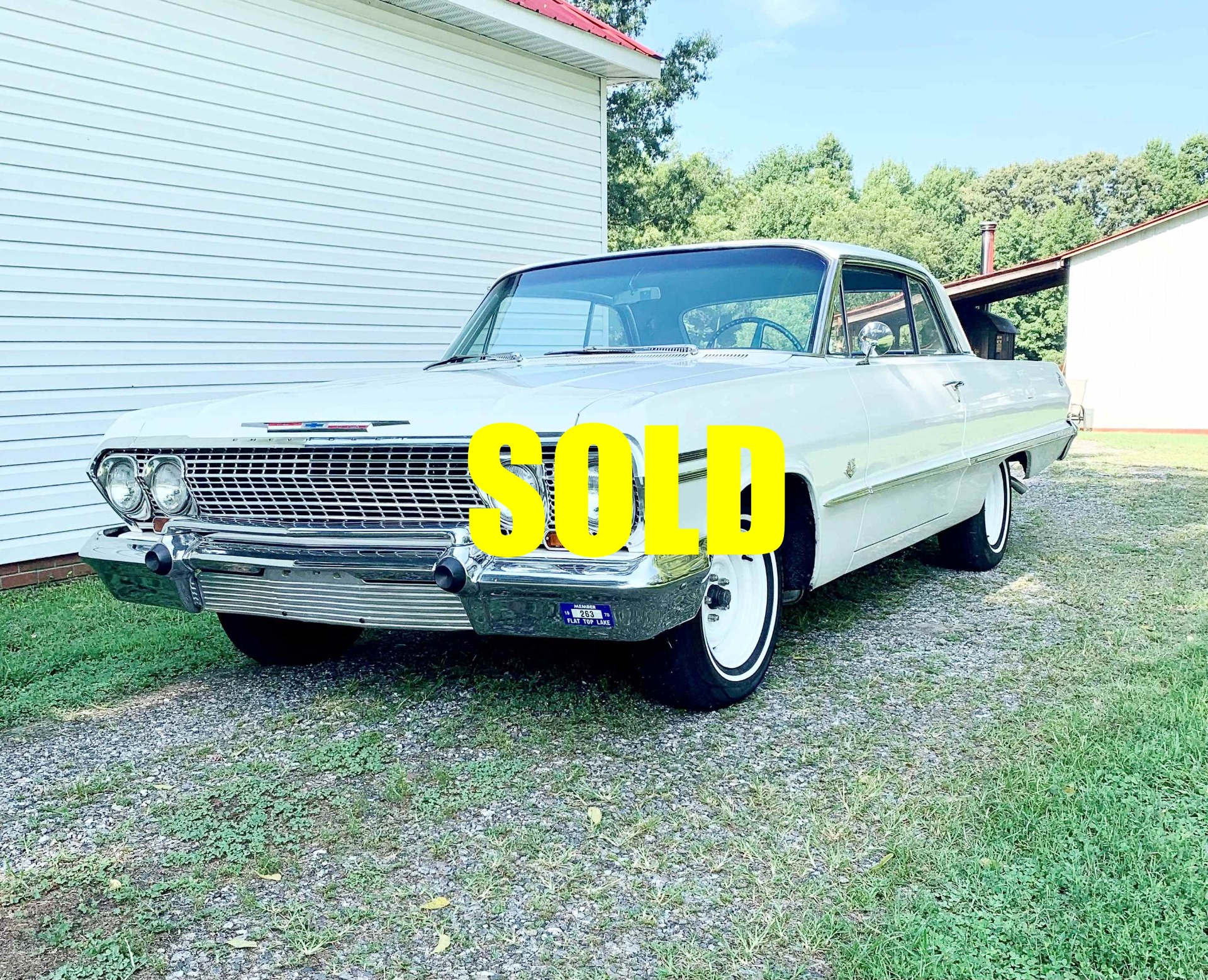 Used 1963 Chevrolet Impala  171 , For Sale $56500, Call Us: (704) 996-3735