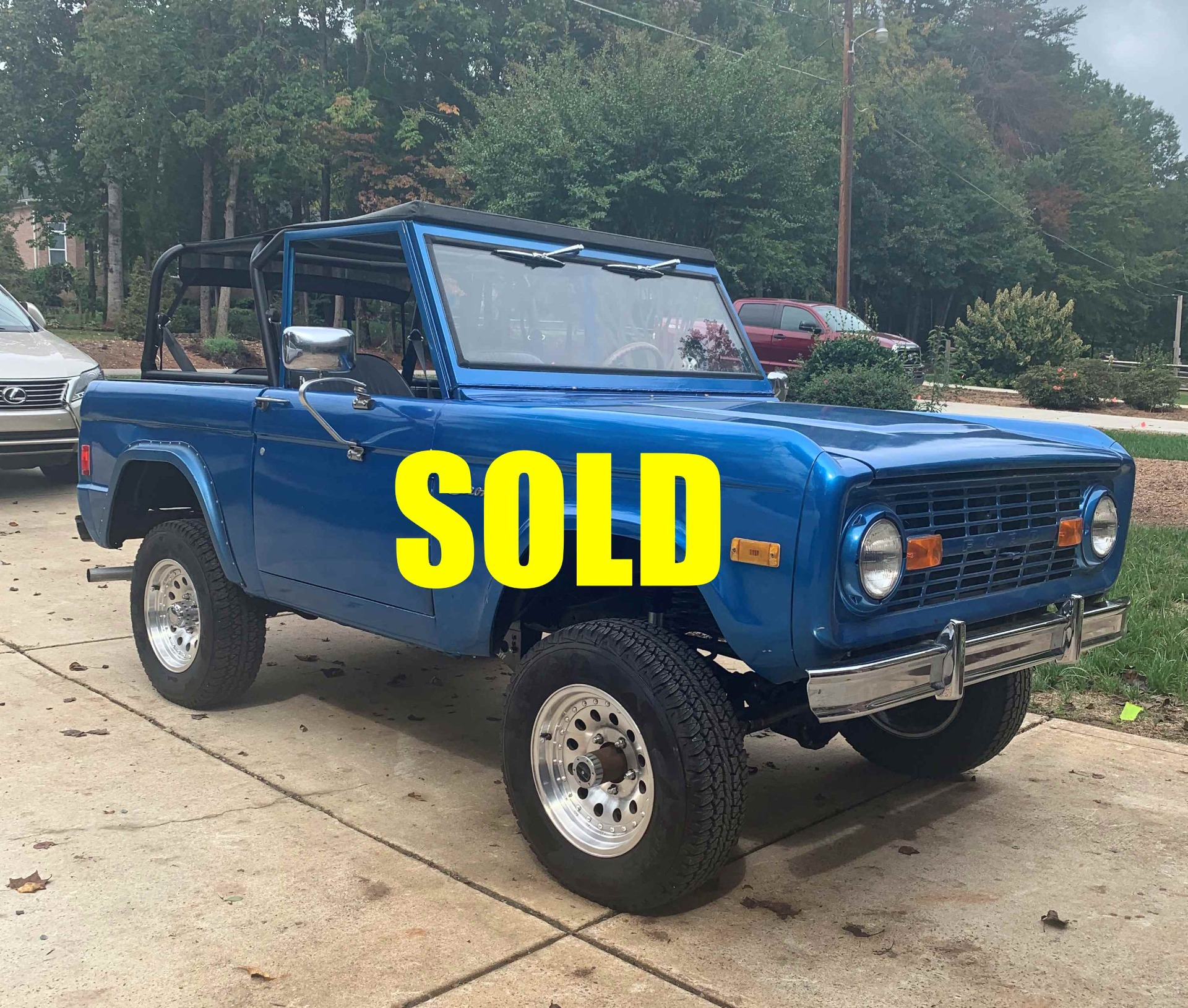 Used 1977 Ford Bronco  178 , For Sale $43000, Call Us: (704) 996-3735