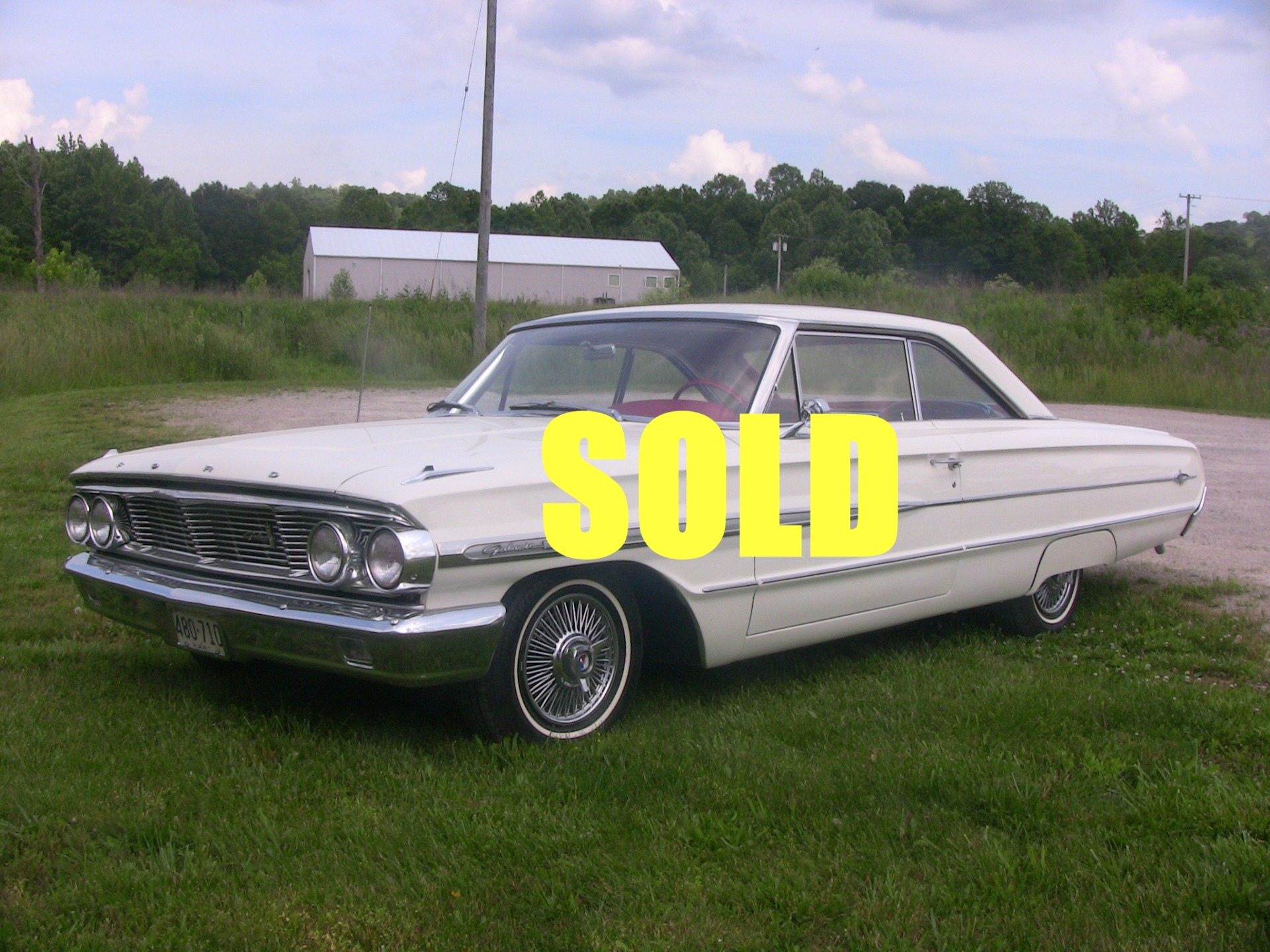 Used 1964 Ford Galaxie  24 , For Sale $24500, Call Us: (704) 996-3735