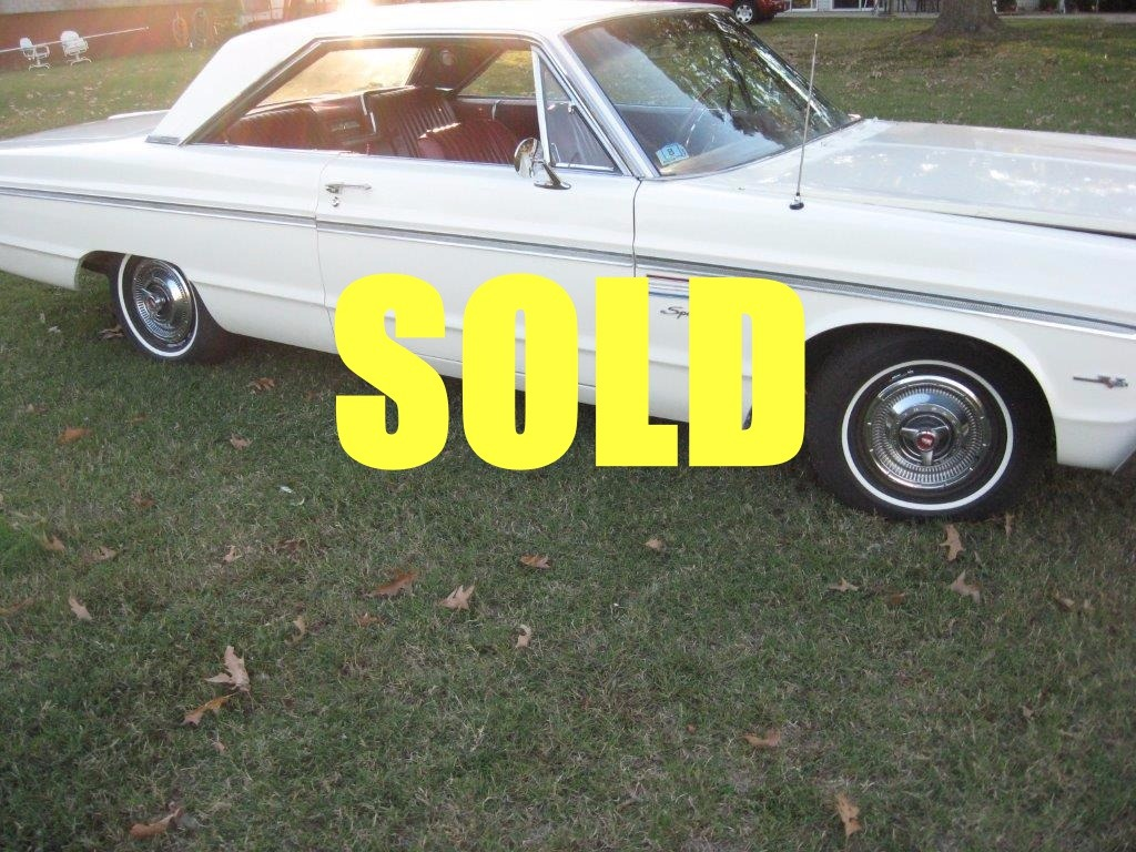 Used 1965 Plymouth Fury  26 , For Sale $17500, Call Us: (704) 996-3735