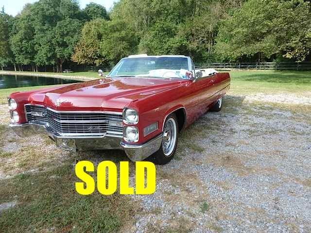 Used 1966 Cadillac DeVille  27 , For Sale $36500, Call Us: (704) 996-3735