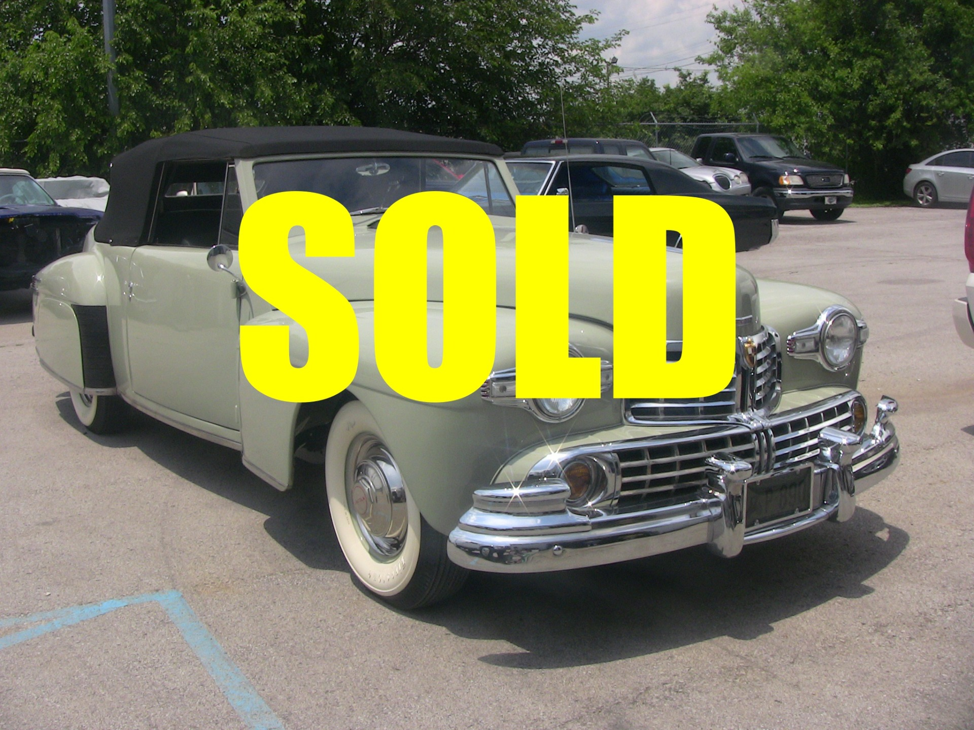 Used 1946 Lincoln Continental  3 , For Sale $59900, Call Us: (704) 996-3735