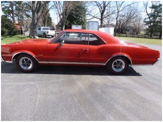 Used 1967 Oldsmobile 442 W 30 31 , For Sale $48500, Call Us: (704) 996-3735