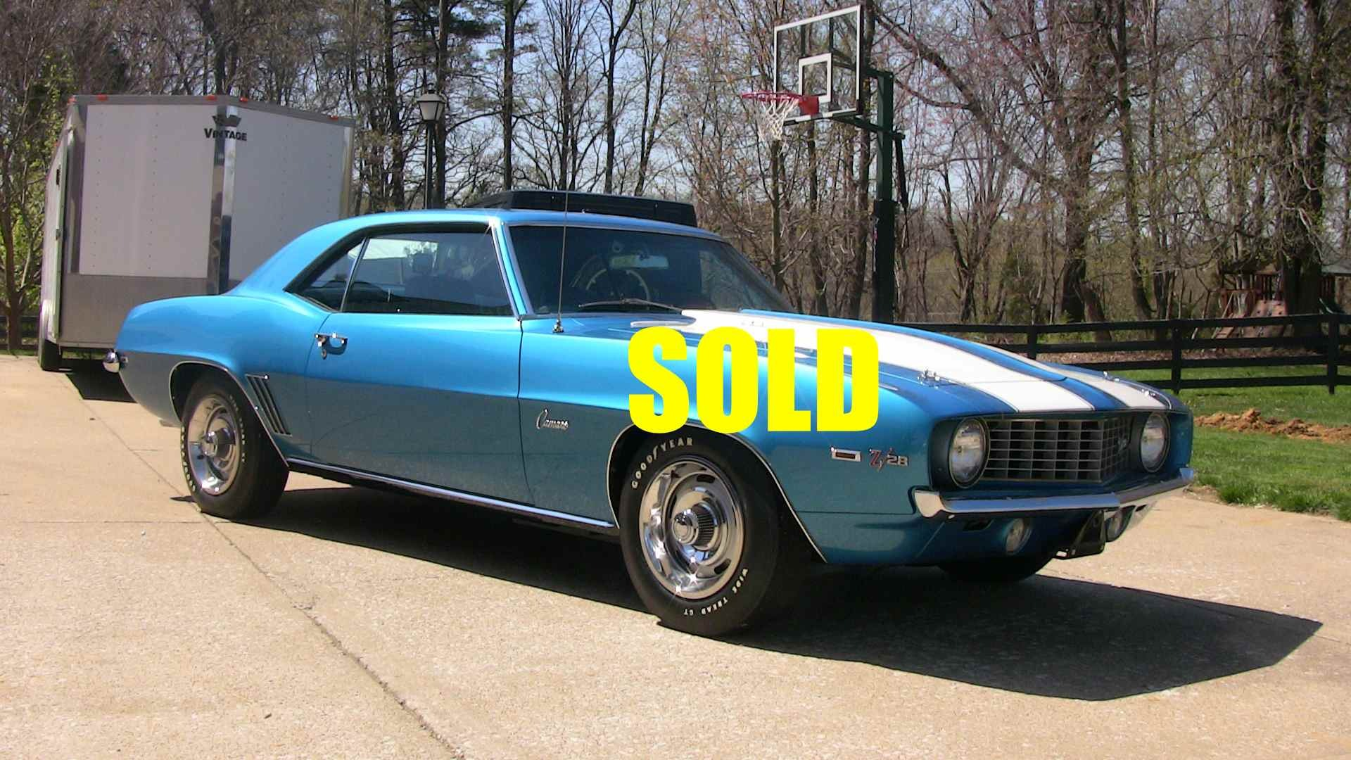 Used 1969 Chevrolet Camaro Z28 34 , For Sale $115000, Call Us: (704) 996-3735