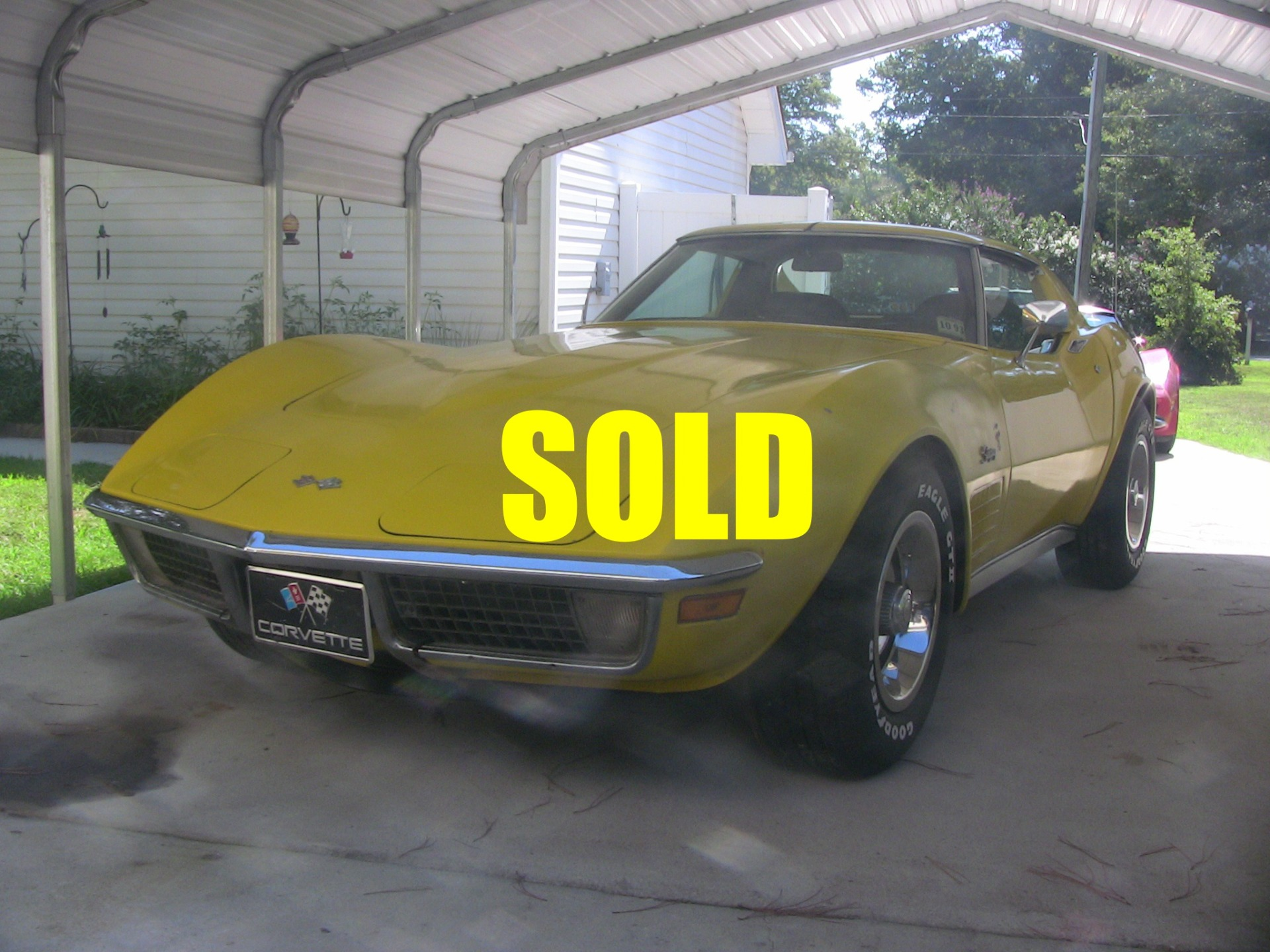 Used 1971 Chevrolet Corvette  38 , For Sale $27500, Call Us: (704) 996-3735