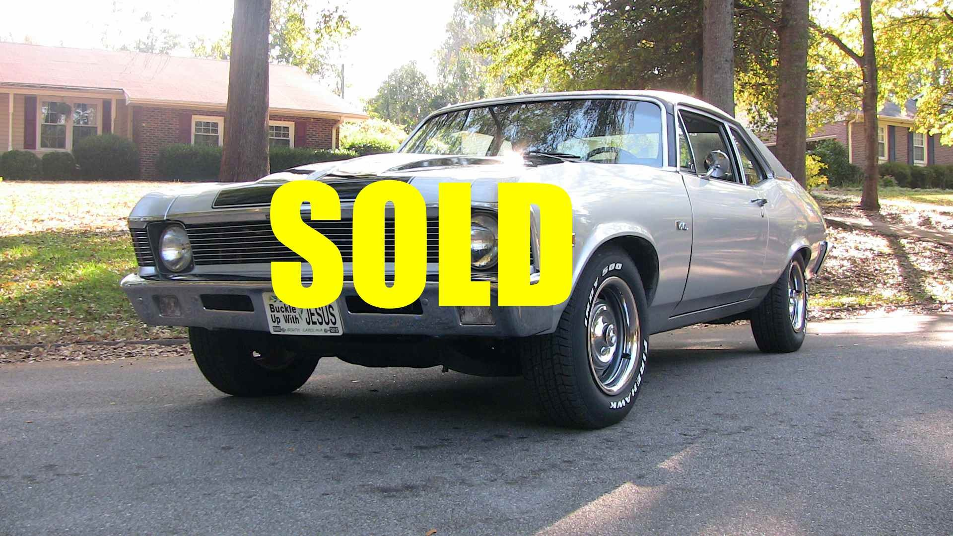 Used 1971 Chevrolet Nova  39 , For Sale $39200, Call Us: (704) 996-3735