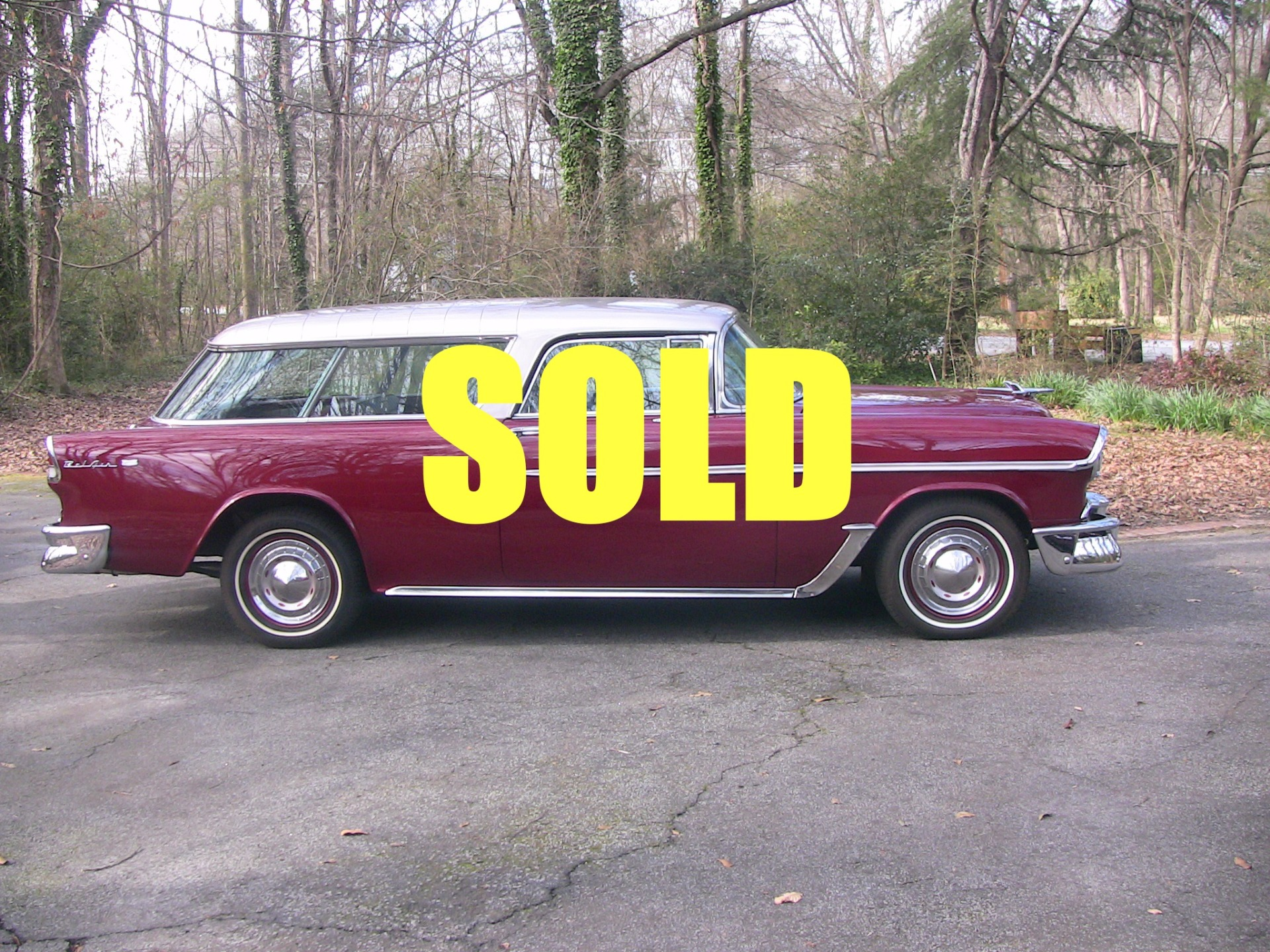 Used 1955 Chevrolet Nomad  4 , For Sale $56000, Call Us: (704) 996-3735