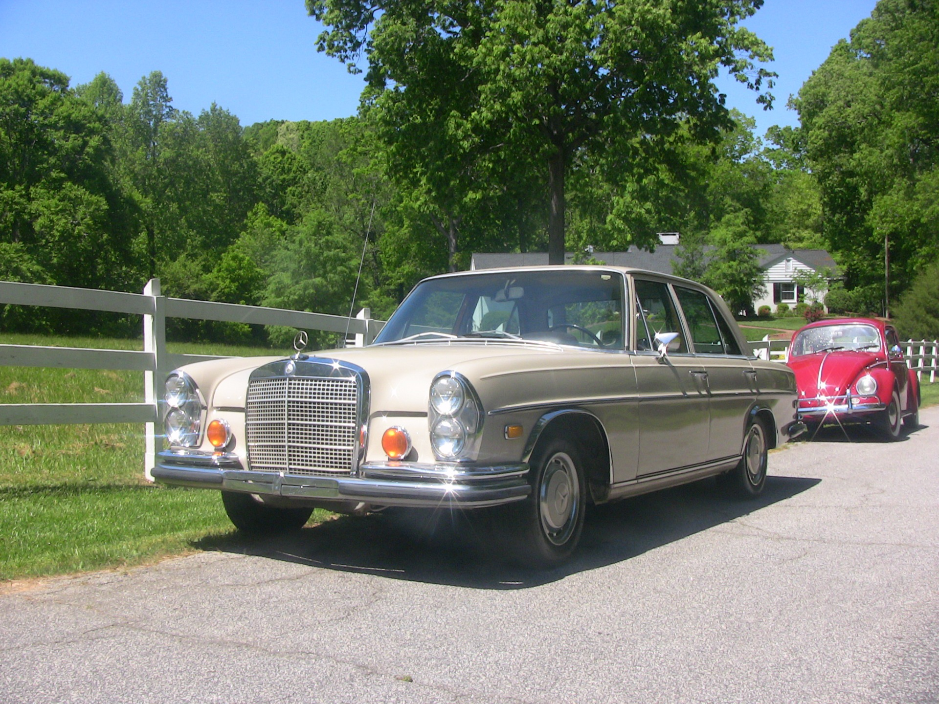 Used 1971 Mercedes Benz 280SE  40 , For Sale $11900, Call Us: (704) 996-3735