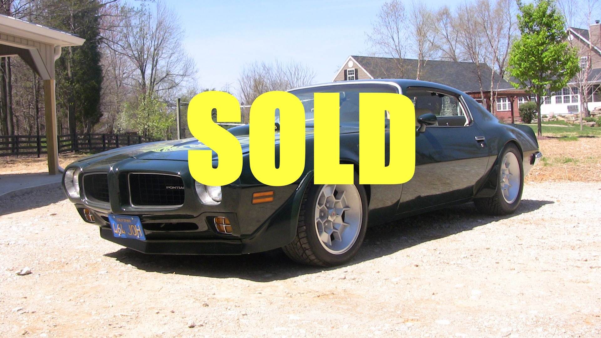 Used 1973 Pontiac Trans Am  42 , For Sale $37000, Call Us: (704) 996-3735