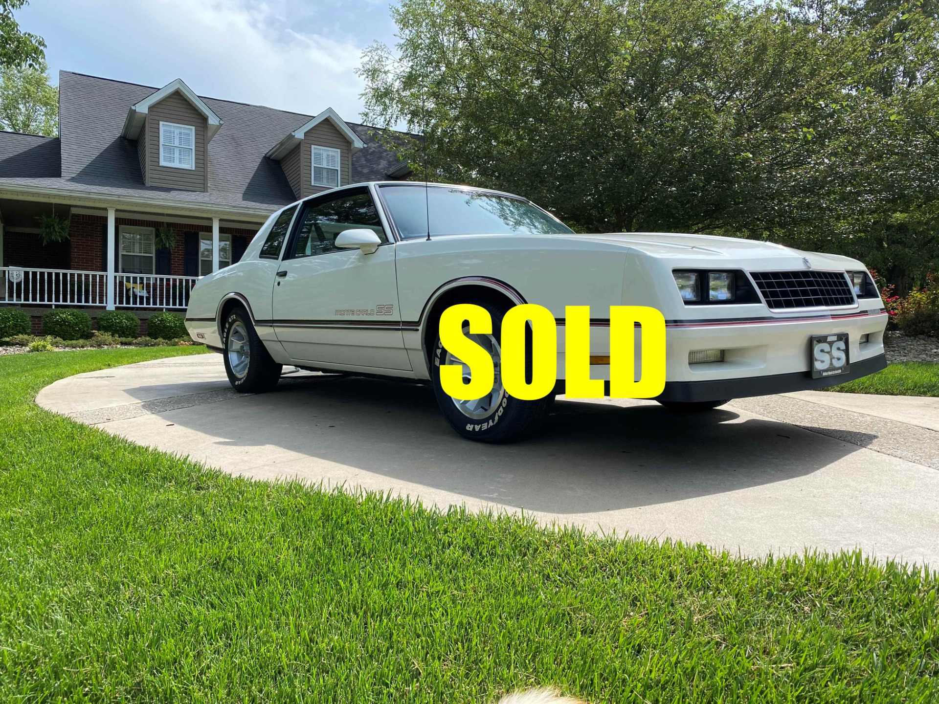 Used 1986 Chevrolet Monte Carlo Ss For Sale 18 500 Classic