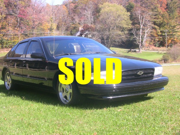 Used 1995 Chevrolet Caprice SS  53 , For Sale $10700, Call Us: (704) 996-3735