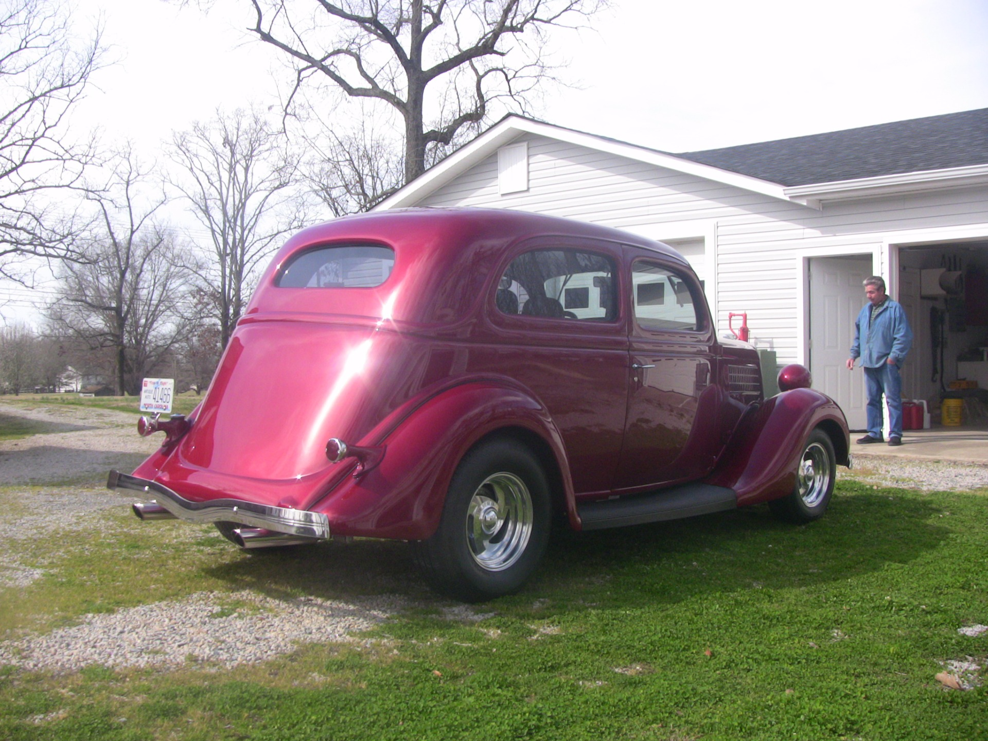 Used 1935 Ford Slantback